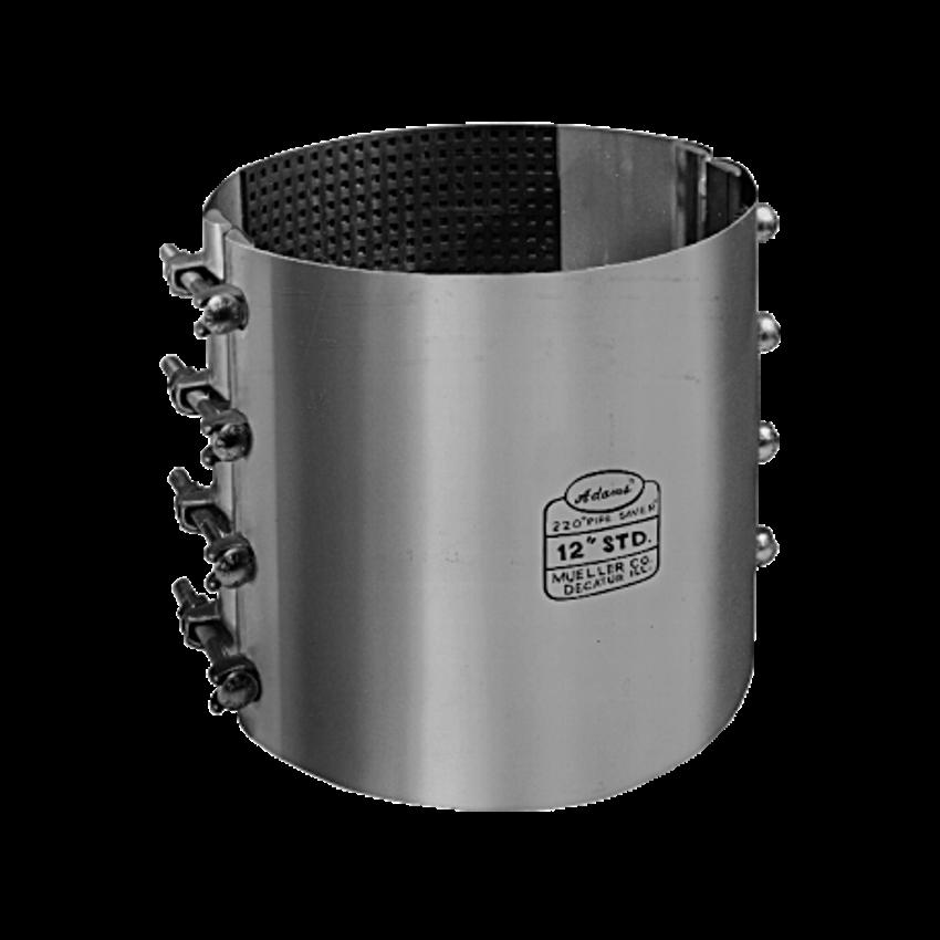 Series pipe saver repair clamps u s valve