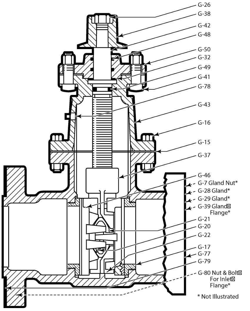 Inch t tapping valve mjxfl u s pipe