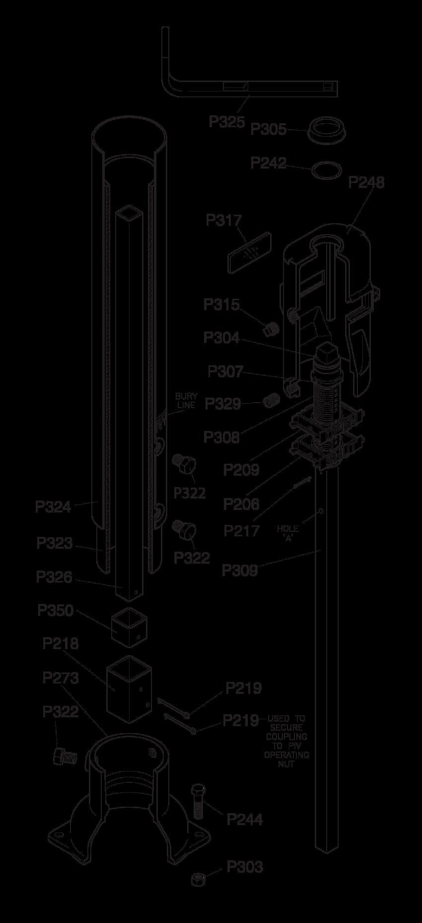 U-20807 Parts Drawing