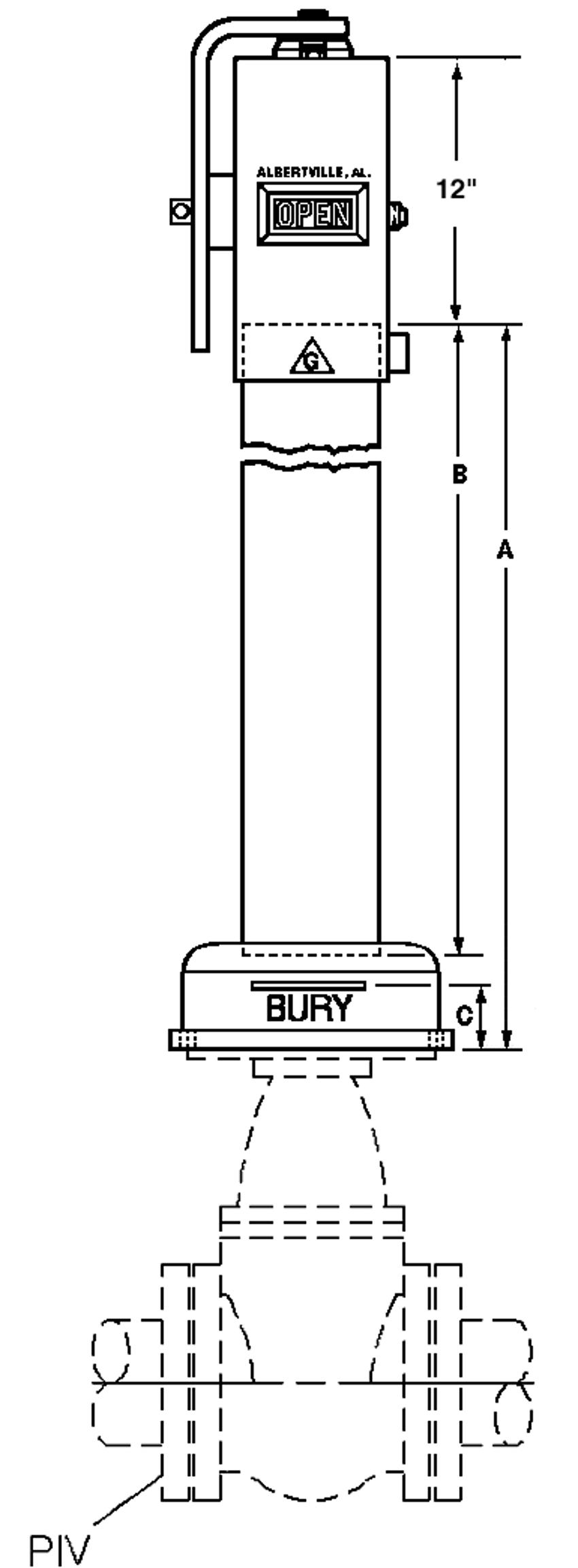 U-20809 Dimensions Drawing