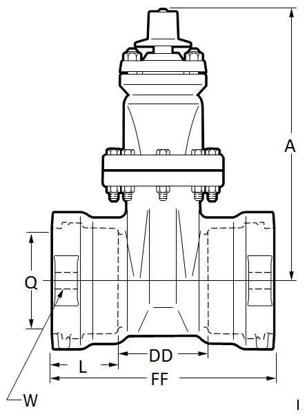 4 12 Inch A Usp1 Rwgv Slxsl For Field Lok Gaskets U S
